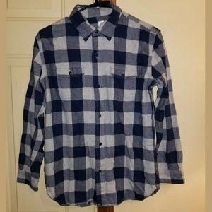 Gap Boys Flannel Plaid Shirt